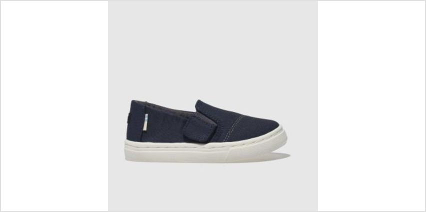 Toms Navy Luca Boys Toddler from Schuh