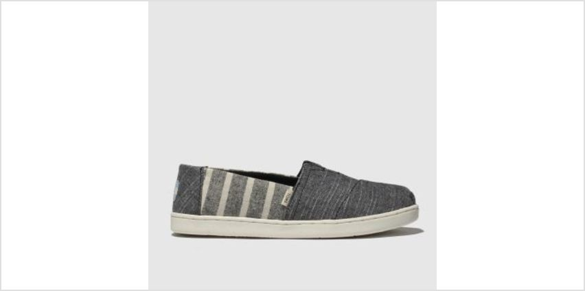 Toms Grey Classic Boys Junior from Schuh