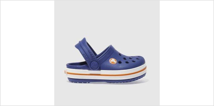 Crocs Blue Crocband Clog Boys Toddler from Schuh