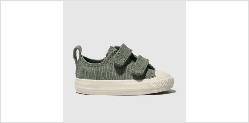 Converse Khaki All Star 2V Lo Boys Toddler from Schuh
