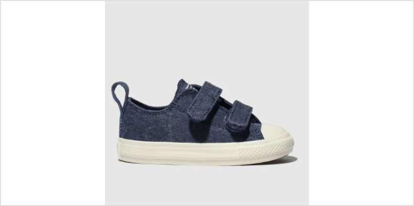 Converse Navy All Star 2V Lo Boys Toddler from Schuh