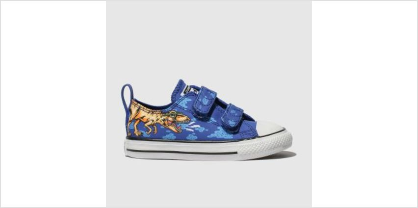 Converse Blue All Star 2V Dino Lo Boys Toddler from Schuh