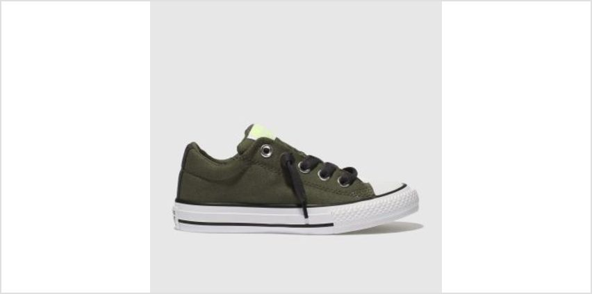 Converse Khaki All Star Street Slip Boys Toddler from Schuh