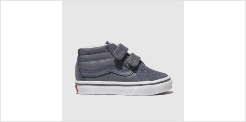 Vans Blue Sk8 Mid Reissue Boys Toddler from Schuh