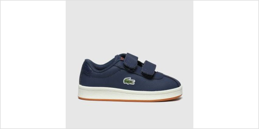 Lacoste Navy & Orange Masters Boys Toddler from Schuh