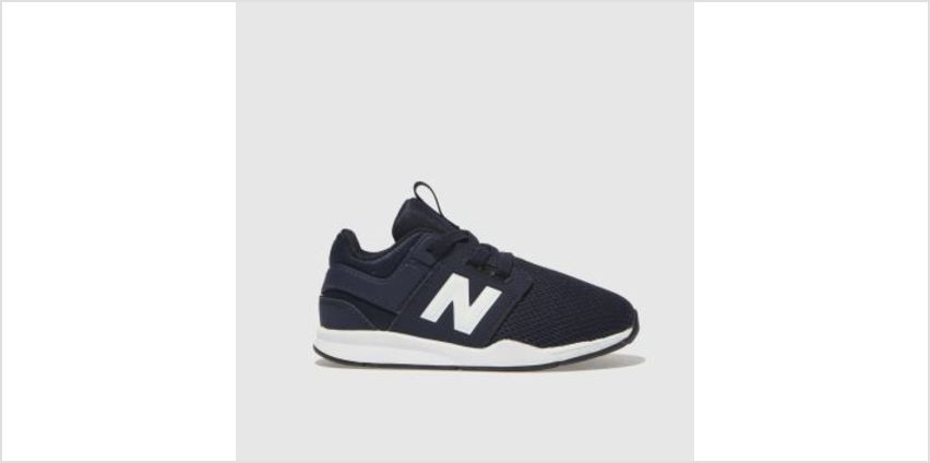 New Balance Navy & White 247 Boys Toddler from Schuh