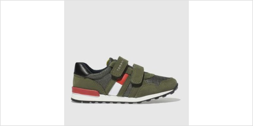 Tommy Hilfiger Khaki Velcro Sneaker Classic Boys Toddler from Schuh