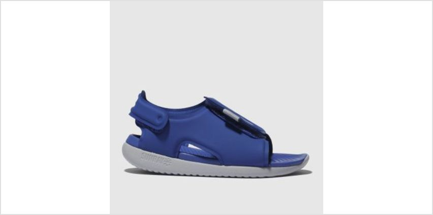Nike Blue Sunray Adjust 5 Boys Toddler from Schuh