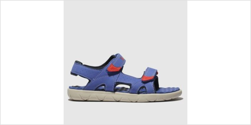 Timberland Blue Perkins Row Boys Junior from Schuh