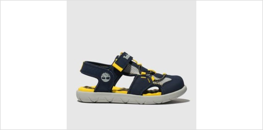 Timberland Navy Perkins Row Fisherman Boys Junior from Schuh