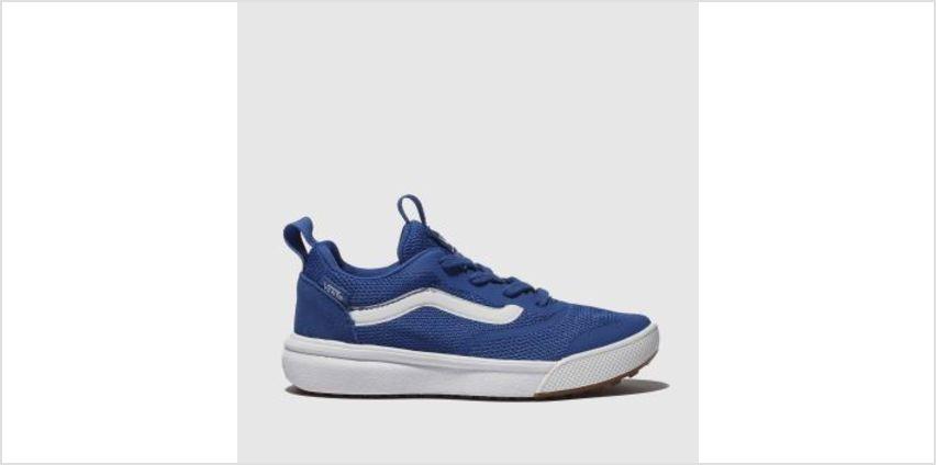 Vans Blue Ultrarange Rapidweld Boys Junior from Schuh
