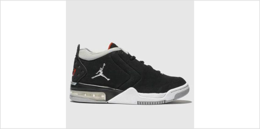 Nike Jordan Black & Silver Big Fund Boys Youth from Schuh