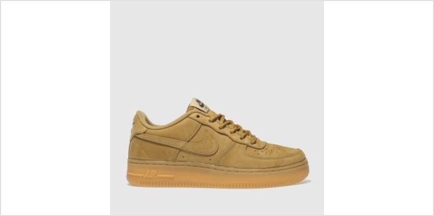 Nike Tan Air Force 1 Winter Premium Boys Youth from Schuh