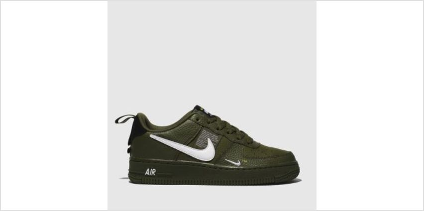 Nike Khaki Air Force 1 Lv8 Utility Boys Youth from Schuh