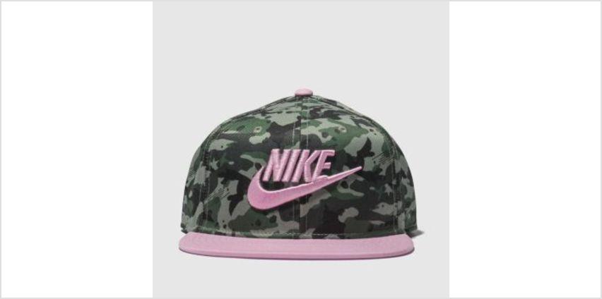 Nike Khaki Kids True Camo 2 Caps and Hats from Schuh