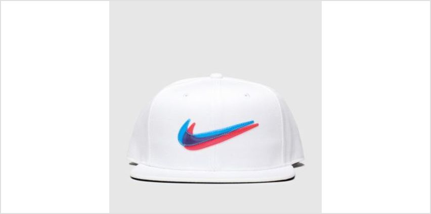 Nike White & Blue Kids Y Nk Pro Cap Ssnl 3D Caps and Hats from Schuh