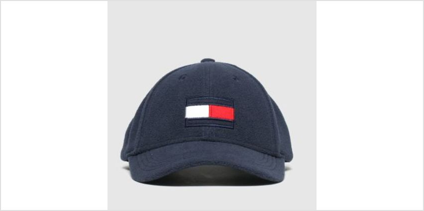 Tommy Hilfiger Navy Kids Big Flag Fleece Caps and Hats from Schuh