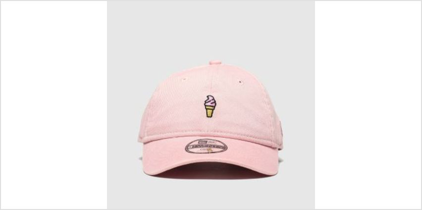New Era Pale Pink Kids 9Twenty Ice Cream Caps and Hats from Schuh