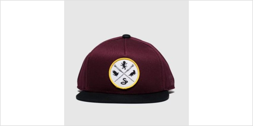 Vans Burgundy Hp Kids Snapback Caps and Hats from Schuh