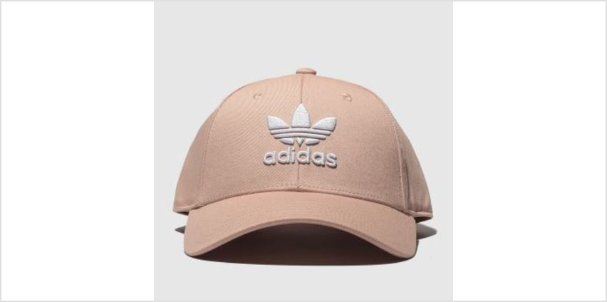 Adidas Pale Pink Baseball Class Trefoil Adults Hats from Schuh