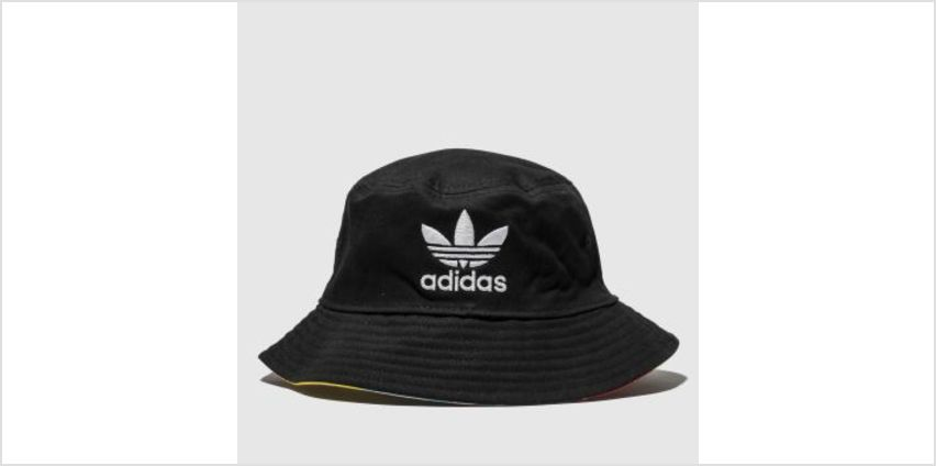 Adidas Black and Pink Tropical Age Bucket Adults Hats from Schuh