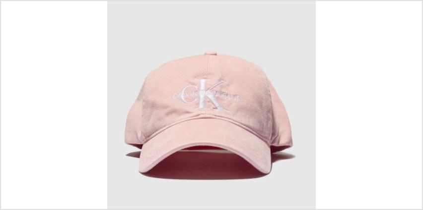 Calvin Klein Pink Jeans Monogram Caps and Hats from Schuh