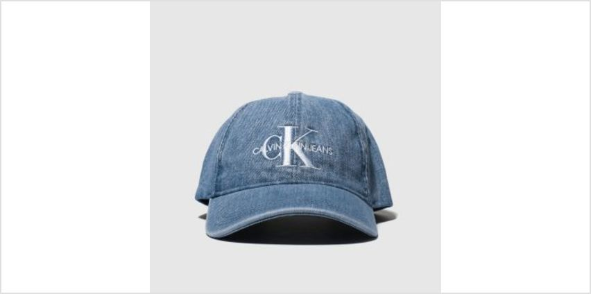 Calvin Klein Blue Jeans Monogram Caps and Hats from Schuh