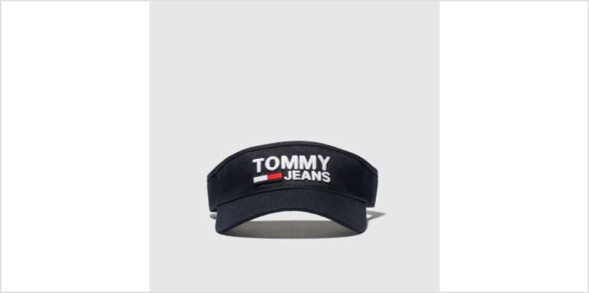 Tommy Hilfiger Black Tj Logo Visor Caps and Hats from Schuh