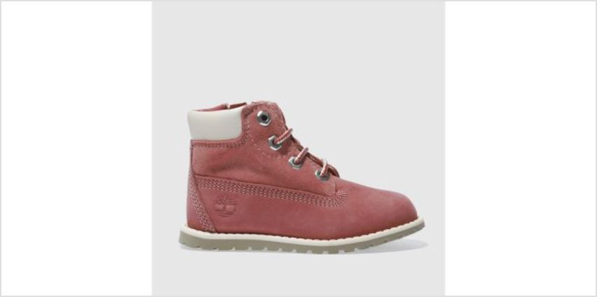 Timberland Pink Pokey Pine Lace Girls Toddler from Schuh