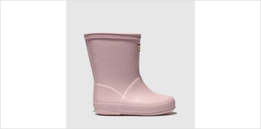 Hunter Pale Pink Kids First Girls Toddler from Schuh