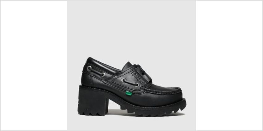 Kickers Black Klio Ghillie Girls Youth from Schuh