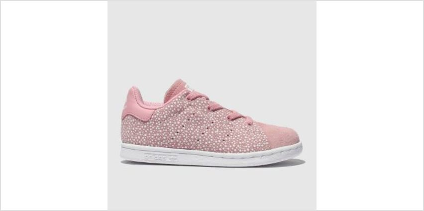 Adidas Pink Stan Smith Girls Toddler from Schuh