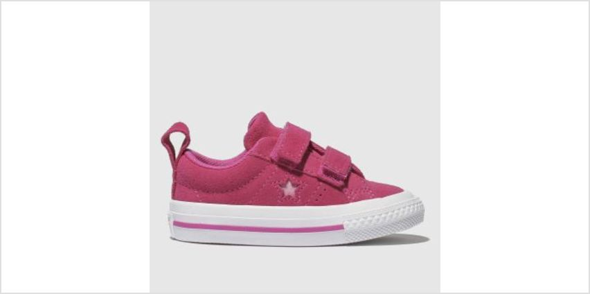 Converse Pink One Star 2V Girls Toddler from Schuh
