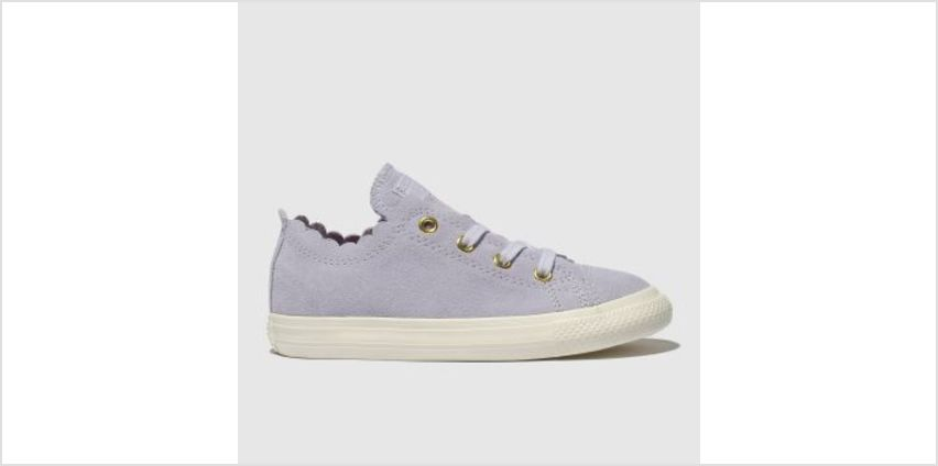 Converse Lilac All Star Lo Frilly Thrills Girls Toddler from Schuh