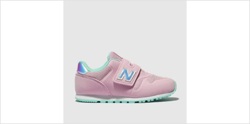 New Balance Pale Pink 373 Girls Toddler from Schuh