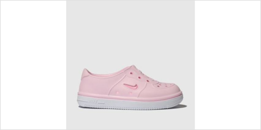 Nike Pale Pink Foam Force 1 Girls Toddler from Schuh