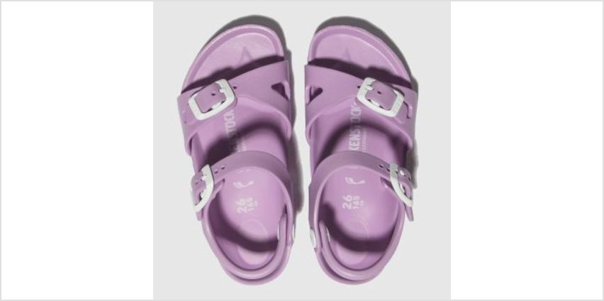 Birkenstock Lilac Rio Eva Girls Toddler from Schuh