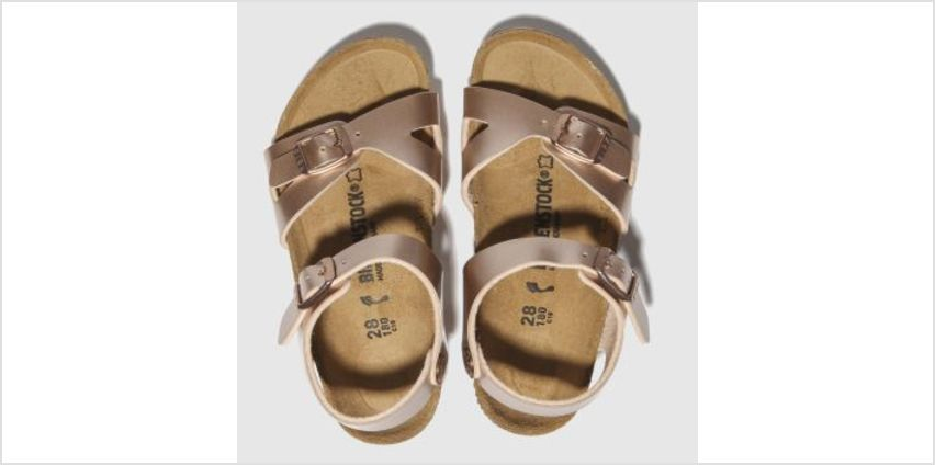 Birkenstock Bronze Rio Girls Toddler from Schuh
