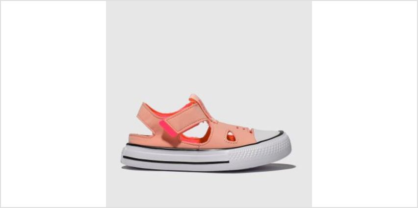 Converse Pale Pink All Star Superplay Sandal Girls Toddler from Schuh
