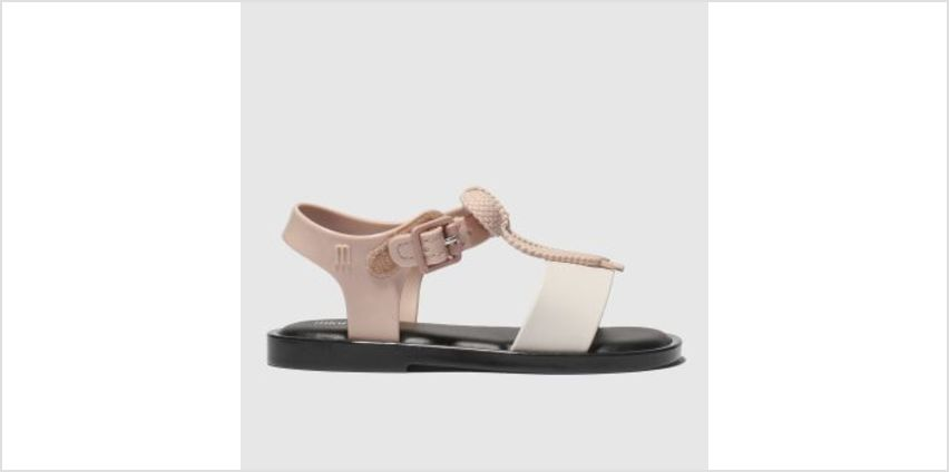 Melissa Pale Pink Mar Lace Sandal Girls Toddler from Schuh