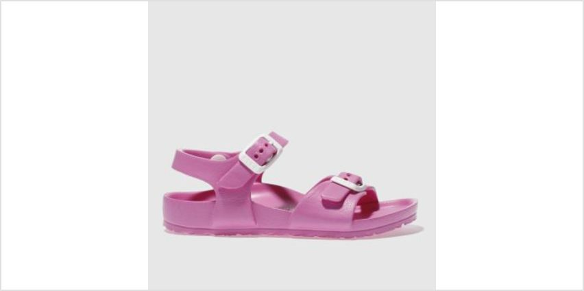 Birkenstock Pink Rio Kids Eva Girls Toddler from Schuh
