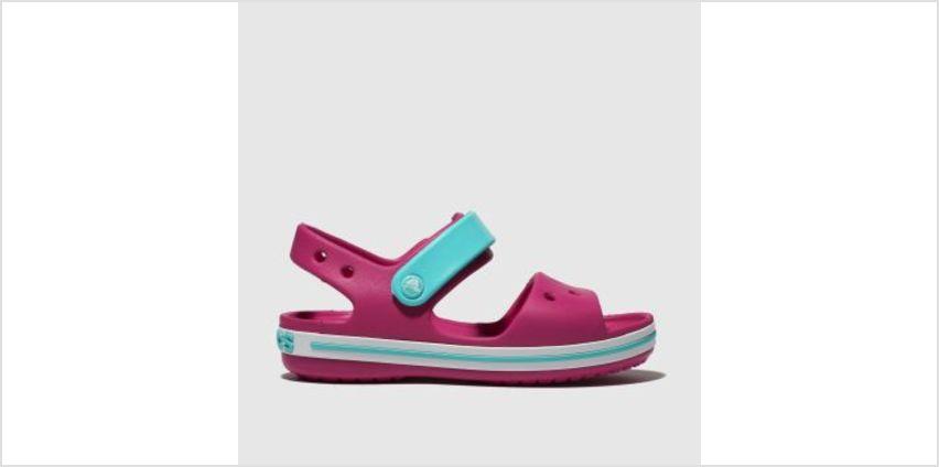 Crocs Pink Crocband Girls Toddler from Schuh