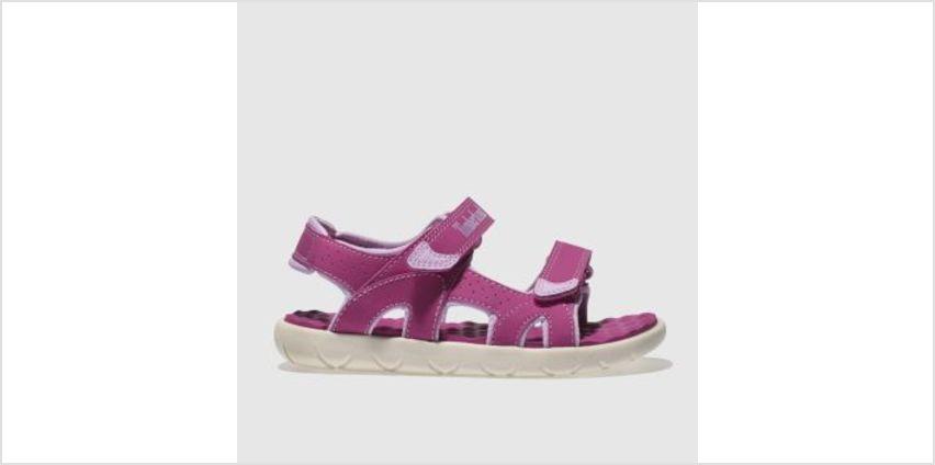 Timberland Pink Perkins Row Girls Junior from Schuh