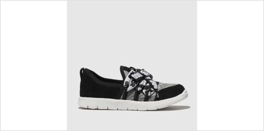Ugg Black & Grey Seaway Sneaker Girls Junior from Schuh