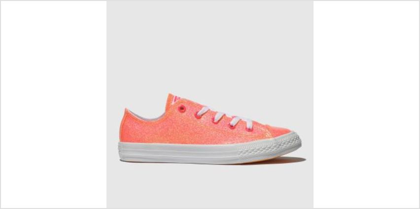 Converse Pink Chuck Taylor All Star Lo Girls Junior from Schuh
