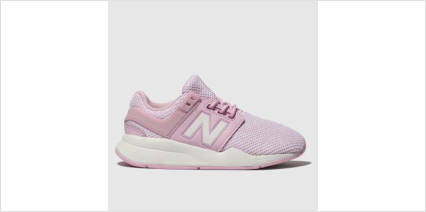 New Balance Pink 247 V2 Girls Junior from Schuh