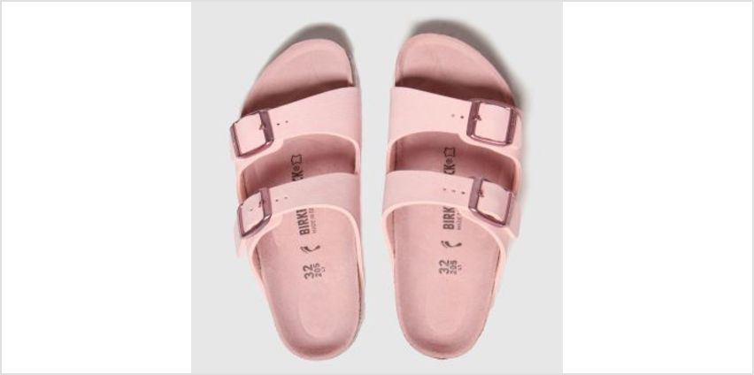 Birkenstock Pale Pink Arizona Girls Junior from Schuh