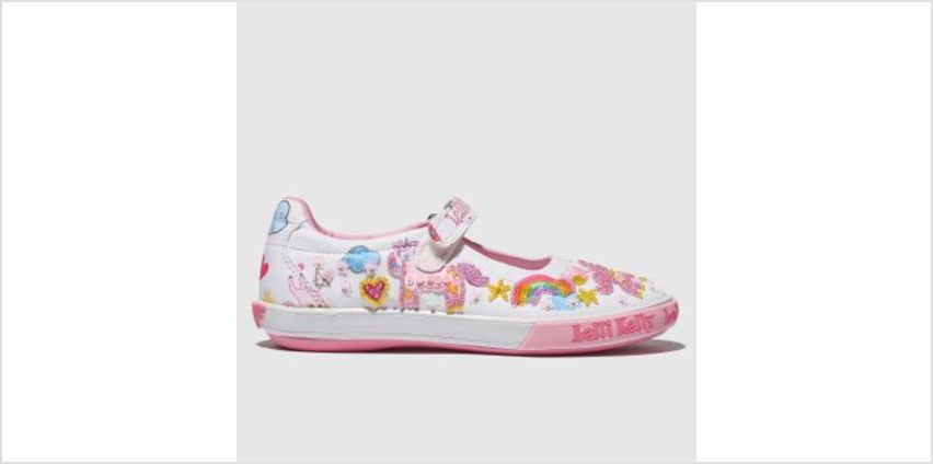 Lelli Kelly White & Pink Unicorn Dolly Girls Junior from Schuh