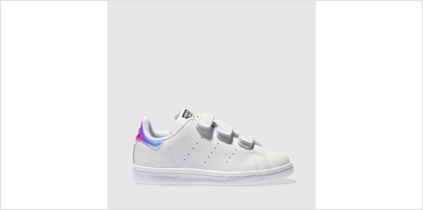 Adidas White Stan Smith Girls Junior from Schuh