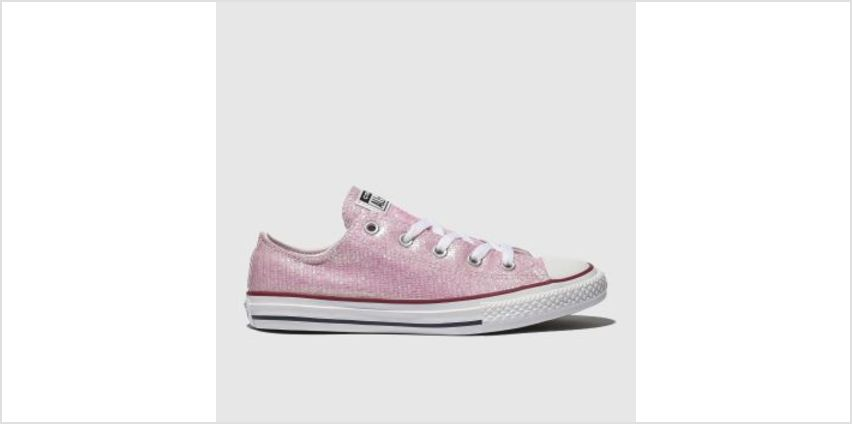 Converse Pink All Star Lo Girls Youth from Schuh